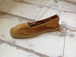 Chaussures-Espadrille-Neuves-P37-PARE-GABIA-Modele-VESTINA-Gold-51-00