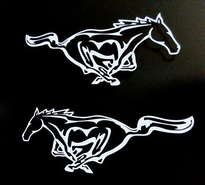Mustang Pong Horse Car truck Racing Vinyl Decal Sticker 1 pair right and left 8/""
