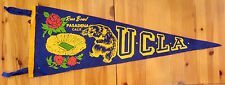 SCARCE! 1962 ROSE BOWL FOOTBALL FELT PENNANT-UCLA/MINNESOTA