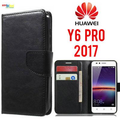 custodia a libro huawei y6 pro 2017
