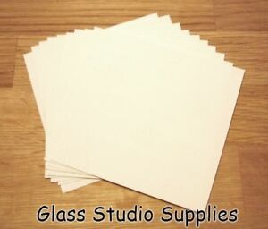 10-Small-Sheets-of-Bullseye-HotPot-Thinfire-Kiln-Paper-for-Glass-Fusing-TFP02