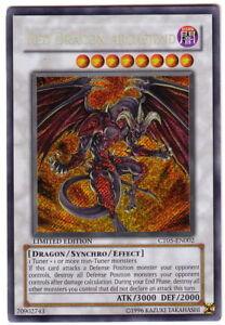 YUGIOH • Arcidemone Drago Rosso CARTA RARA SEGRETA CT05-EN002 NMINT