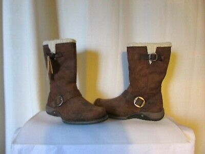 Responsible Boots Cat Leather Bold Brown Size 36 In Short Supply