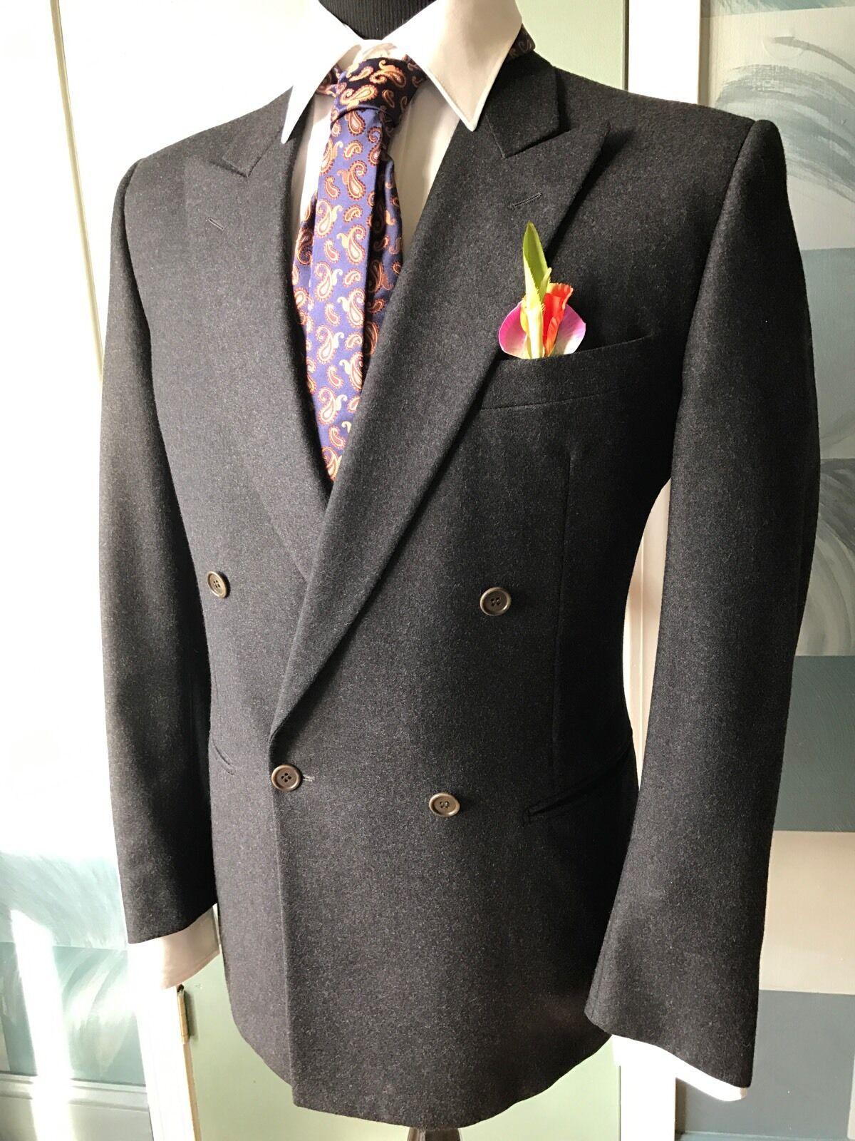 2 Lot Hugo Boss & Euromodo Blazer Coat 38R