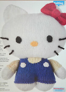Hello Kitty Toy Knitting Pattern Free : Hello Kitty Toy Knitting Pattern eBay