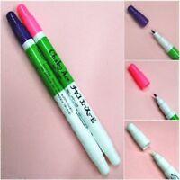 Disappearing Vanishing Pens / Set Of Pink & Violet Pens With Eraser