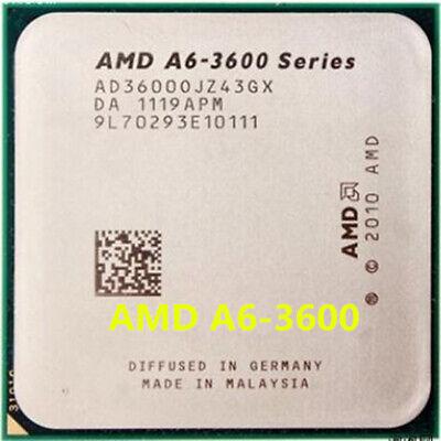 Amd A6 3600 Cpu A6 Series Ad3600ojz43gx 2 1 Ghz 4m Socket Fm1 Processors Ebay