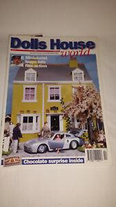 Bien éDuqué Maison De Poupées Monde Magazine Issue 44-afficher Le Titre D'origine Performance Fiable