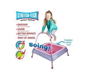 NEW-Chad-Valley-3ft-Junior-Trampoline-Kids-Indoor-Outdoor-Trampolines-Bouncer