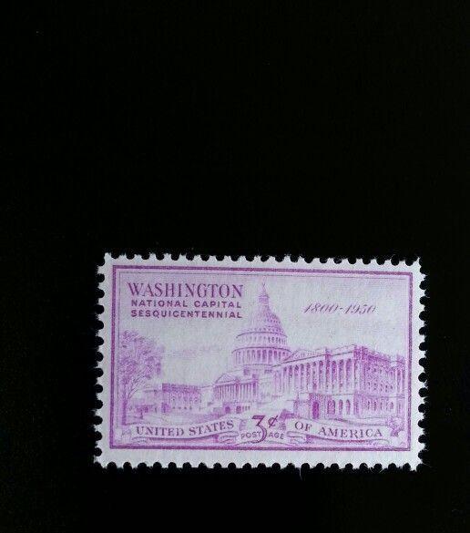 1950 3c U.S. Capitol, Washington, 150th Anniversary Sco