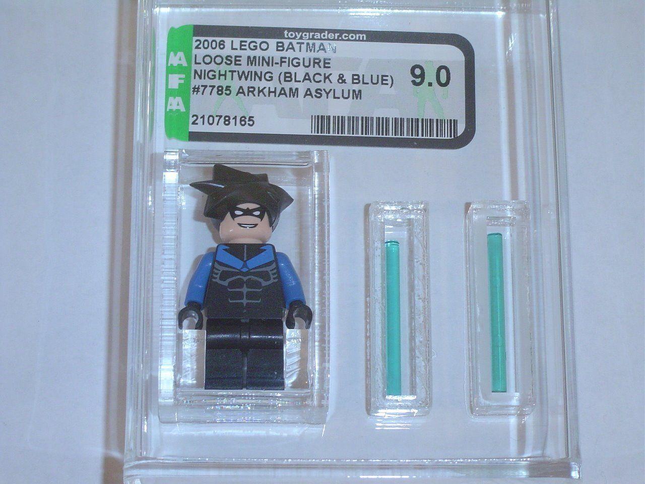 Lego 2006 Marvel Super Heroes Nightwing Set 7785 GRADED AFA 9.00 - F15 NEW