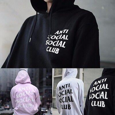 AntiSocial Social Club Hoodie Anti Social Social Club Hooded Kanye Sweatshirts