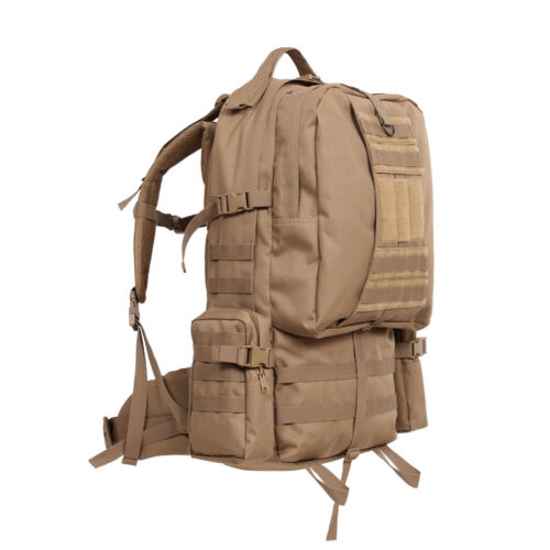 Rothco Global Assault Survival Hiking Tactical MOLLE Compatible Backpack