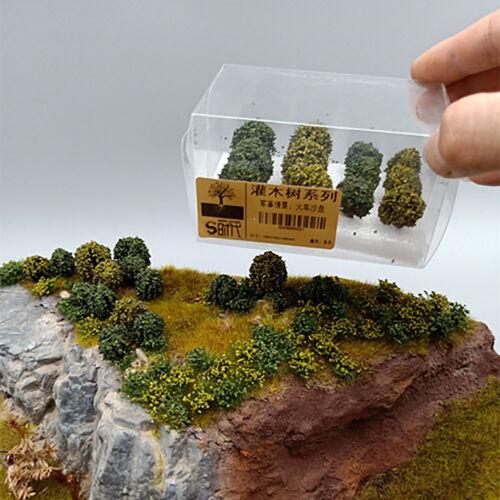 12Stk Strauch Vegetation Militärsimulation Szenen Sand Tabellen Landschaft PJ01