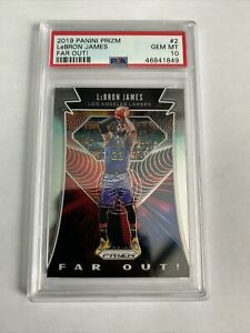 2019-LeBron-James-Panini-Prizm-Far-Out-2-PSA-10-Gem-Mint