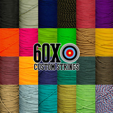 3', 5', 10' BCY #24 D Loop Material Archery Choice Of Color