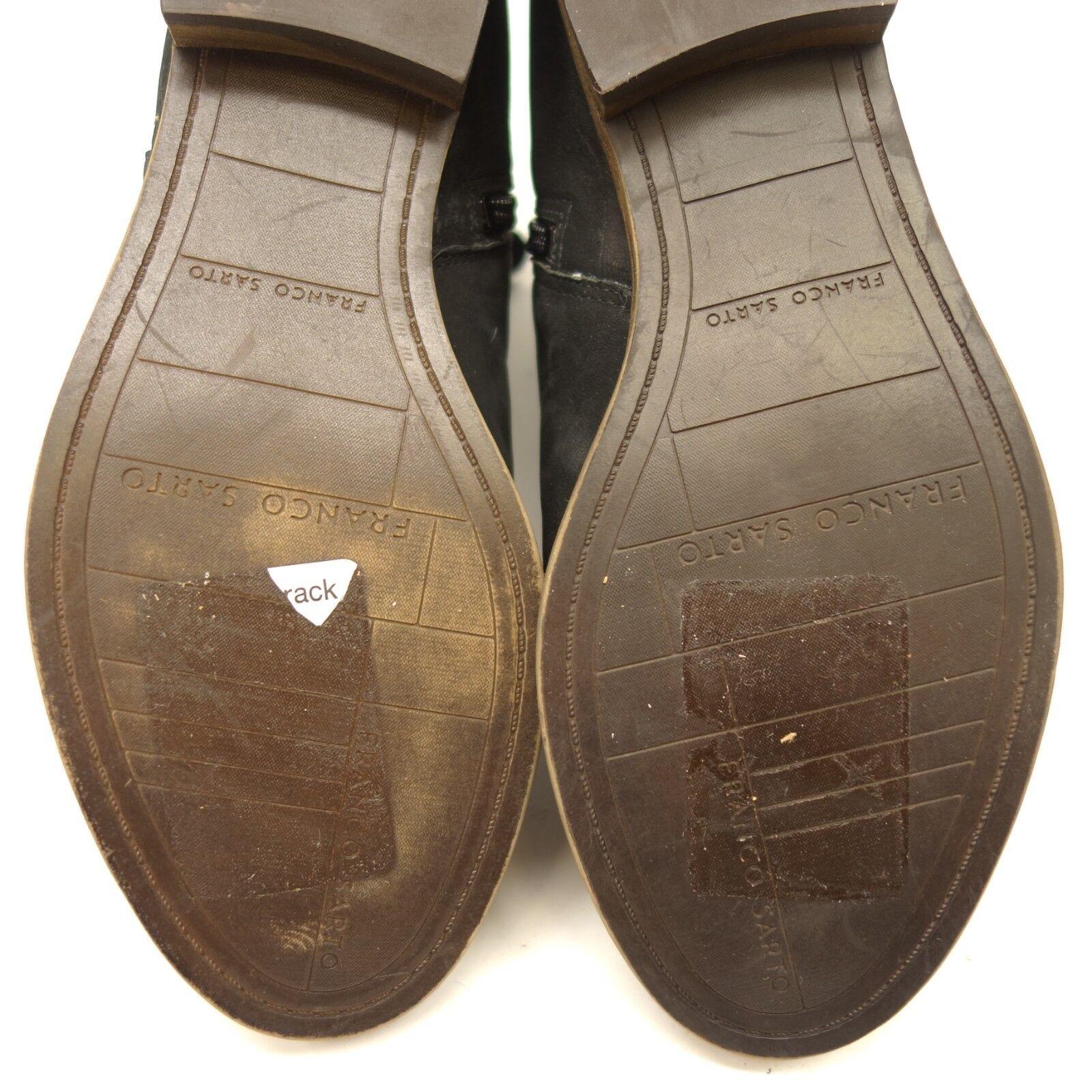 Nuevo Franco arenisca Sarto para mujer Kacey Negro arenisca Franco Gamuza al tobillo Botines botas Talla 8.5 e22de8