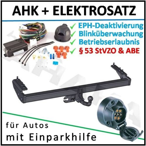 Anhängerkupplung ES7 Volvo V70 II Kombi 00-07 DPC EPH-Deaktivierung Einparkhilfe