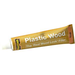 1-x-Rustins-Plastic-Wood-Teak-Filler-Tube-Repair-Fix-Fills-Cracks-Gaps-30g-New