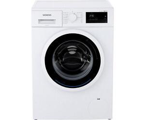 siemens wm14n0a1 waschmaschine freistehend weiss neu ebay. Black Bedroom Furniture Sets. Home Design Ideas