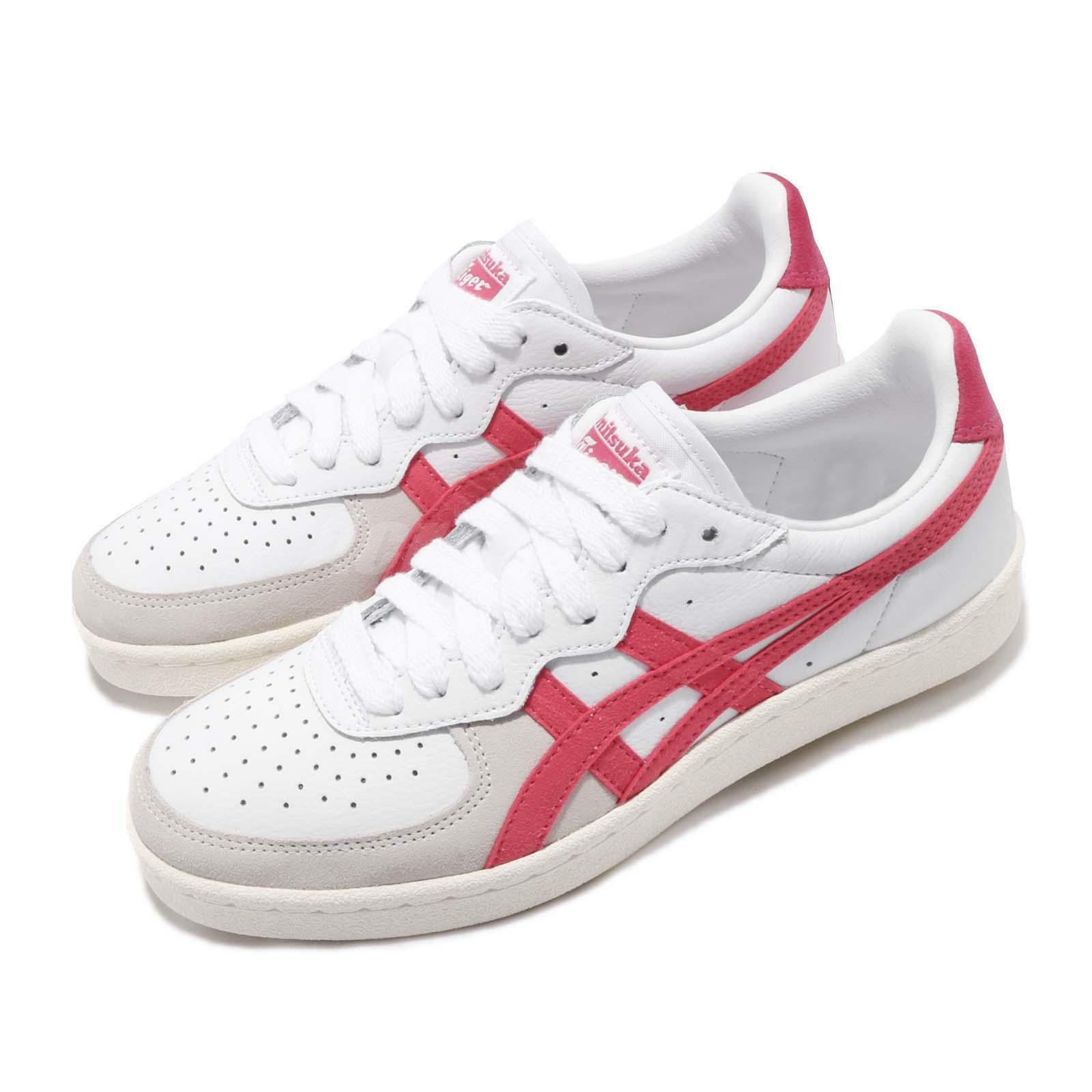 Asics Onitsuka Tiger GSM blanco Pitaya mujer Classic zapatos zapatillas 1182A076-102