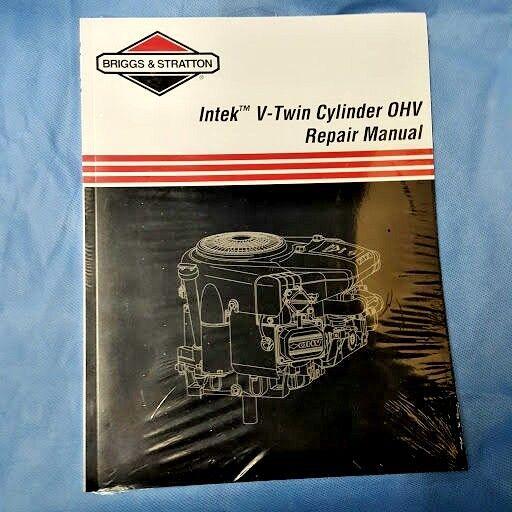 briggs stratton intek v twin cylinder ohv engine repair service rh ebay com Repair Manuals Yale Forklift Kubota Tractor Repair Manual