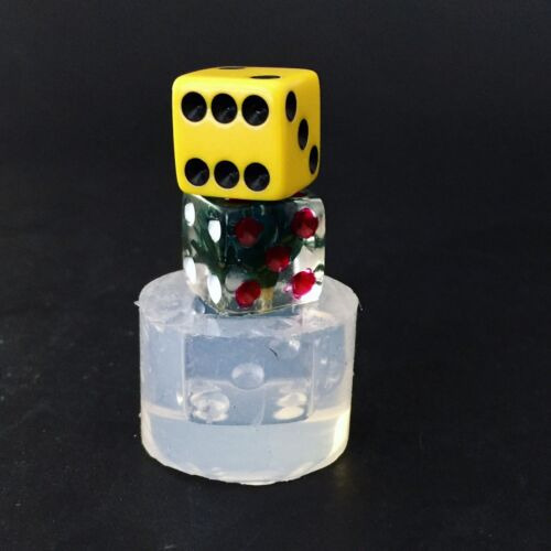 Dice Mold MD147 Clear Silicone Mold Made In USA