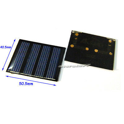 2pcs 2V 90mA mini solar panels s597