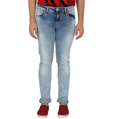 LAWMAN Men's SLIM FIT OXY BLUE JEANS(LAWMAN_Men's_SLIM FIT_JEANS)