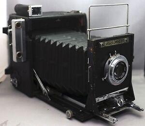 GRAFLEX-Speed-Graphic-VINTAGE-Camera-POLAROID-110A-Rodenstock-f-4-7-127mm-Lens