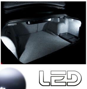 Renault-MEGANE-2-2-Ampoules-LED-blanc-Eclairage-Coffre-Bagages-Trunk-light
