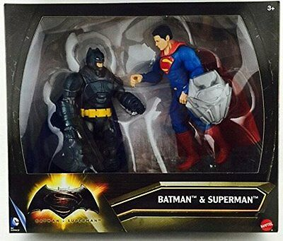 BATMAN VS SUPERMAN 2 PACK FIGURE SET DMY94 *NEW*