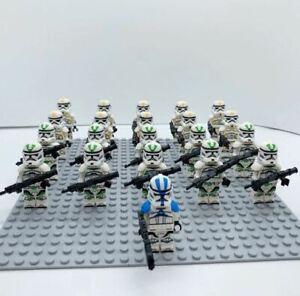 21Pcs-Minifigures-Star-Wars-Clone-Trooper-501st-Army-Trooper-Lego-MOC-Kids-toys