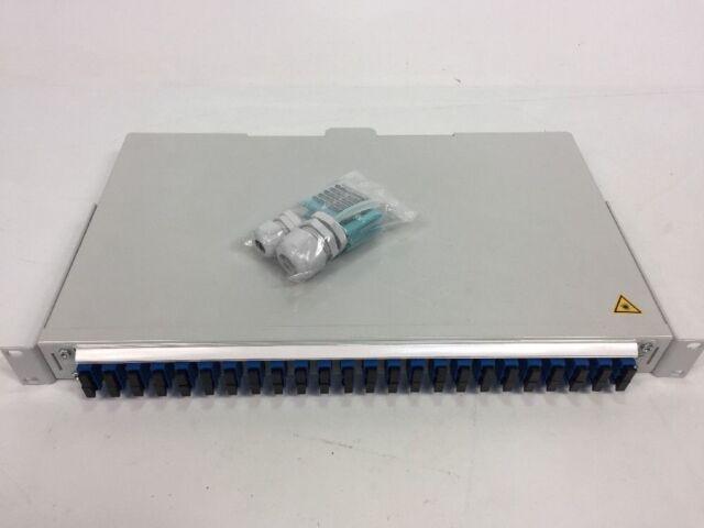 Lwl Telegärtner FO 19 Basis V 1HU 24x SC Duplex Pigtails E9/125 OS2 H02030E0034
