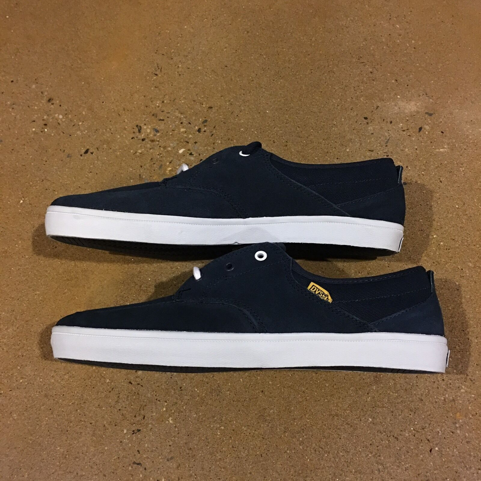 DVS Landmark Size 12 US Navy Suede BMX Shoes DC Skate Deck Boat Shoes BMX Sneakers 7ca900