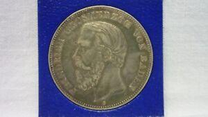 5 Mark Baden Friedrich I. 1875 in S/SS mit Zertifikat