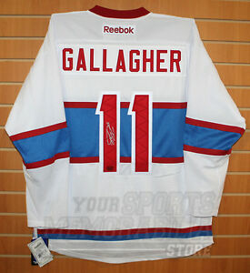 best cheap 3a70d 82135 Details about Brendan Gallagher Montreal Canadiens Signed Autographed  Winter Classic Jersey