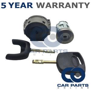 Para Ford Fiesta Mondeo Transit conmutador De Encendido Kit De Reparación Cerradura de encendido y 3 llaves