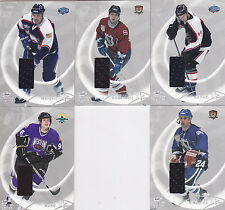 02-03 BAP All Star Chris Chelios /30 Jersey SILVER Be A Player