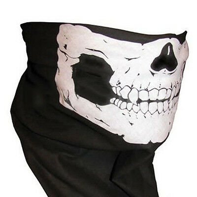 Durable Mystic Skull Bandana Cycling Motorcycle Helmet Neck Face Mask Ski Sports