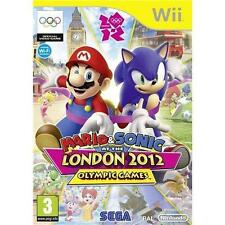 MARIO AND SONIC AT THE LONDON 2012 OLYMPICS (Wii)-SUPER GAME=30 EVENTS=NO MANUAL