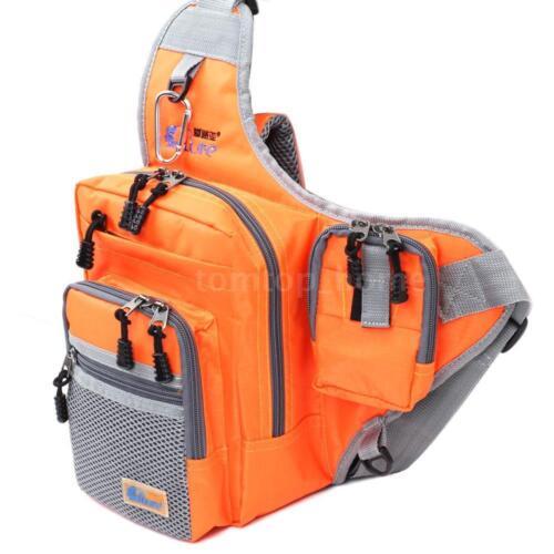 Portable Fishing Lure Storage Bag Waist Pack Shoulder Bag Tackle NEW Style