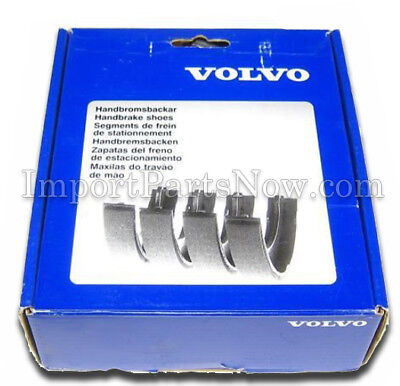 S60//S80//V70 GENUINE Volvo Frein à Main Chaussure Kit 31262869