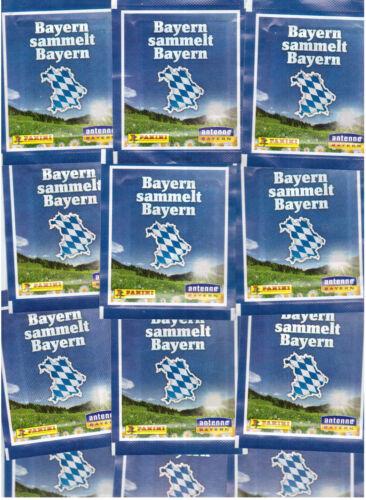 50 Tüten Panini Sticker Bayern sammelt Bayern
