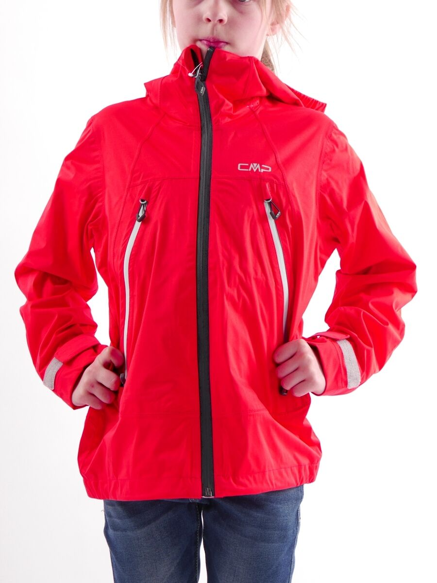 Funzione CMP Giacca tempo libero Giacca Giacca Giacca Giacca con Cappuccio Rosso WINDPROTECT ® Zipper c16575