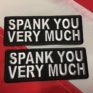 Spank for fun