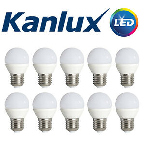 Pack-Commerce-X10-Kanlux-non-a-Variation-Bilo-6-5w-LED-E27-Blanc-Froid