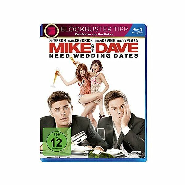 Blu-ray - Mike and Dave Need Wedding Dates - Zac Efron, Anna Kendrick, Aubrey Pl