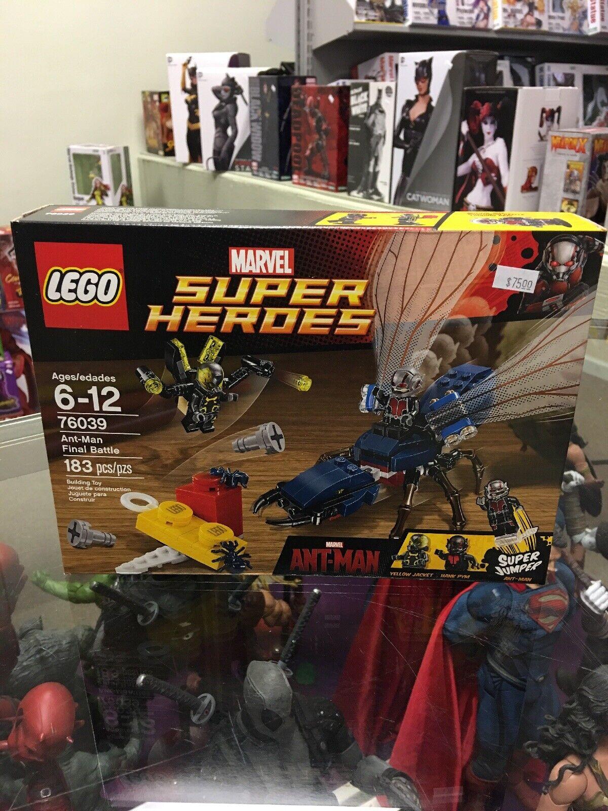Lego marvel ant man Final battle