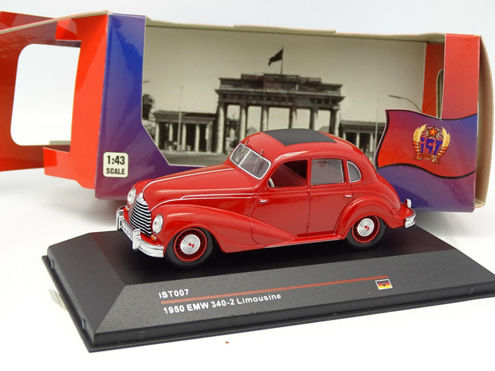 Ixo IST 1 43 43 43 - (BMW) EMW 340 2 Limousine red e1d881